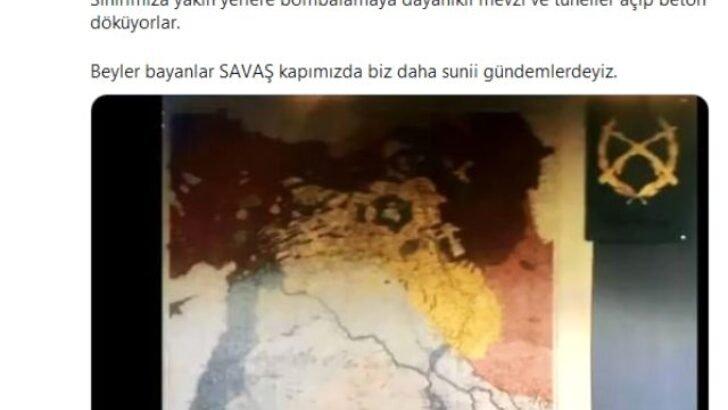 Netflix dizisindeki bölünmüş Türkiye haritası tepki çekti