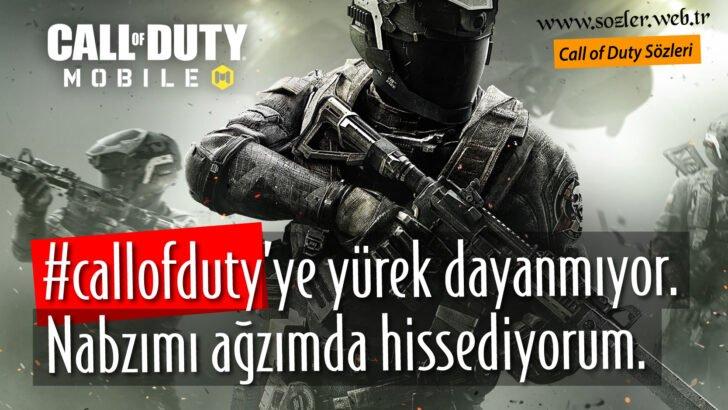 Call of Duty sözleri – COD Sözleri