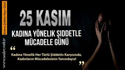 Kadına şiddete hayır sözleri: 25 Kasım Kadına Yönelik Şiddetle Mücadele Günü mesajları!
